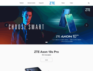 ztedevices.it screenshot