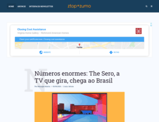 ztop.com.br screenshot