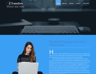 ztransfers.com screenshot