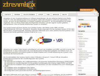 ztreambox.org screenshot