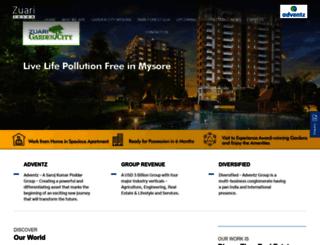 zuariinfraworld.com screenshot