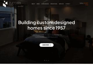 zuccalahomes.com.au screenshot