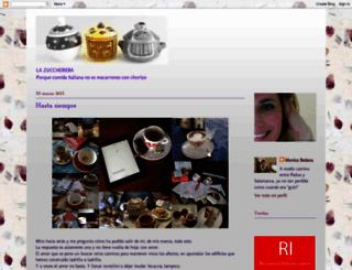 zuccheriera.blogspot.com.es screenshot