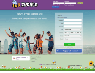 zudate.com screenshot