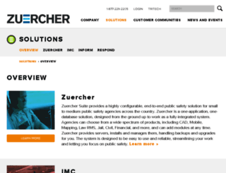 zuercherportal.com screenshot