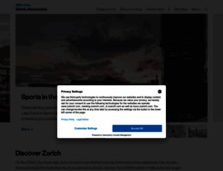 zuerich.com screenshot
