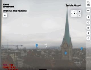 zuerichtourismus.roundshot.ch screenshot