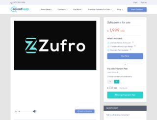 zufro.com screenshot