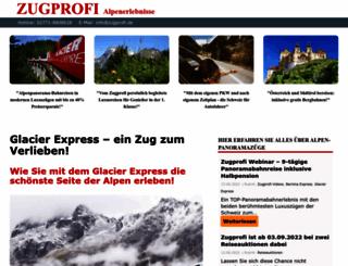 zugprofi.de screenshot