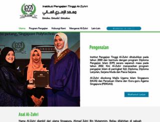 zuhri.com.sg screenshot