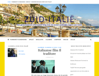 zuid-italie.nl screenshot
