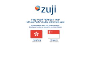 zuji.com screenshot