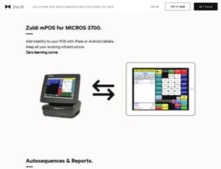 zuldi.com screenshot