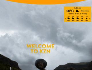 zulu.org.za screenshot