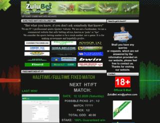 zulubet.win screenshot
