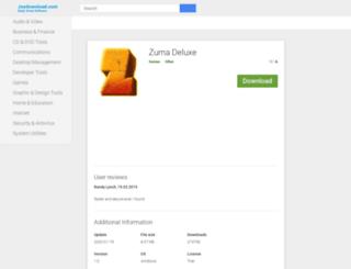 zuma-deluxe.joydownload.com screenshot