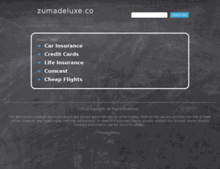 zumadeluxe.co screenshot