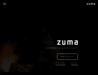 zumarestaurant.com screenshot
