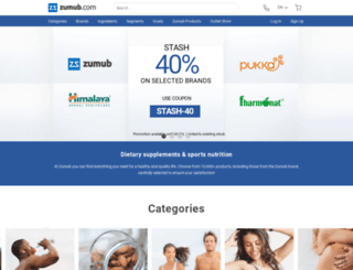 zumbu.com screenshot