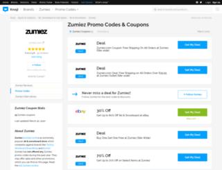 zumiez.bluepromocode.com screenshot