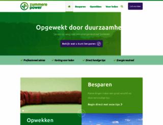 zummerepower.nl screenshot