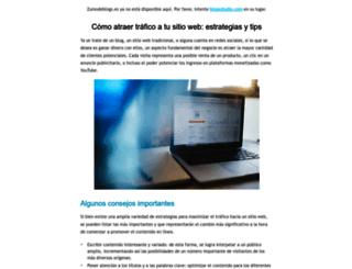 zumodeblogs.es screenshot