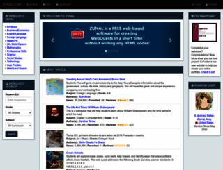 zunal.com screenshot