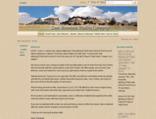 zunimountaintrading.com screenshot