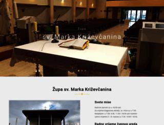 zupa-sv-marka-krizevcanina.hr screenshot