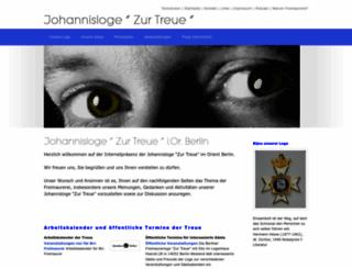 zur-treue-berlin.de screenshot