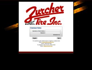 zurcher.tireweb.com screenshot