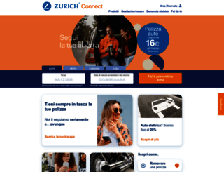 zurich-connect.it screenshot