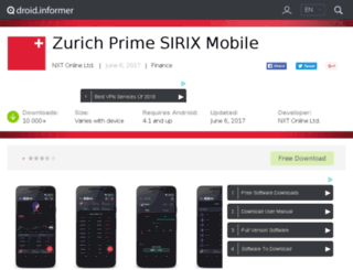 zurich-prime-sirix-mobile.droidinformer.org screenshot