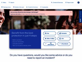 zurich.ch screenshot