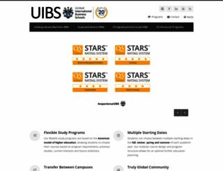 zurich.uibs.org screenshot