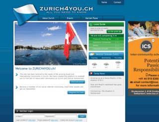 zurich4you.com screenshot