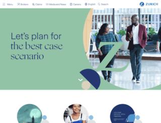 zurichcanada.com screenshot