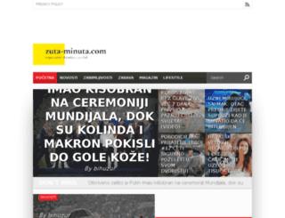 zuta-minuta.com screenshot