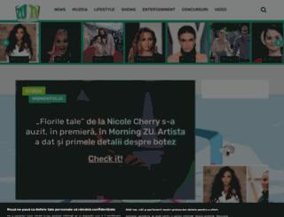 zutv.ro screenshot