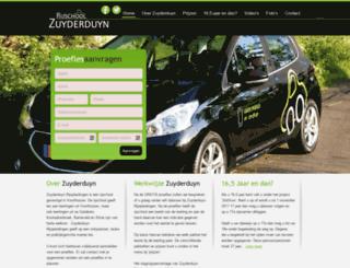 zuyderduyn-rijopleidingen.nl screenshot