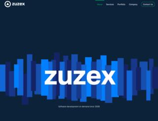 zuzex.com screenshot
