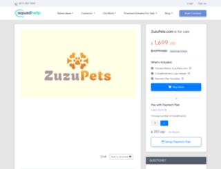 zuzupets.com screenshot
