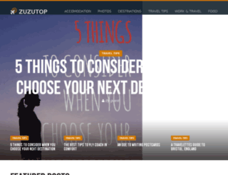 zuzutop.com screenshot