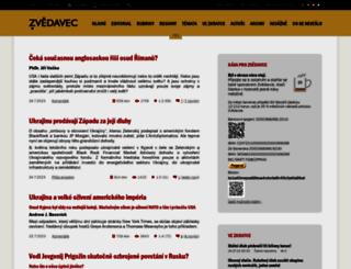 zvedavec.org screenshot
