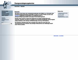 zvg-portal.de screenshot