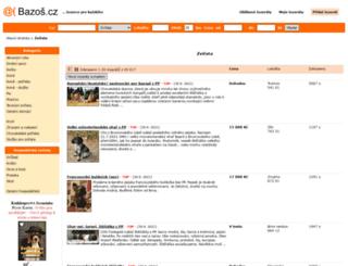 zvirata.bazos.cz screenshot