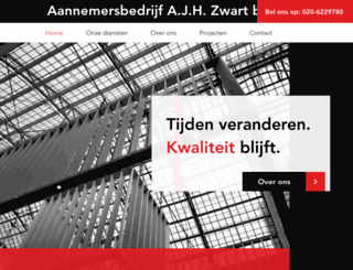 zwartbv.nl screenshot