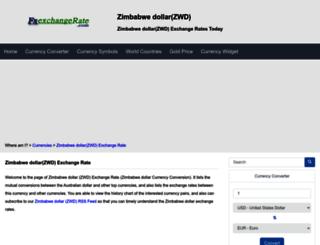 zwd.fxexchangerate.com screenshot