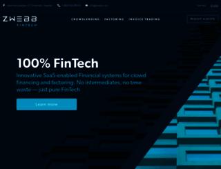 zwebb.com screenshot