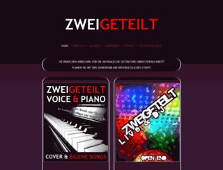 zweigeteilt.com screenshot